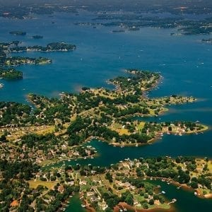 Southern Lake Norman Aerial