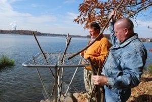 Building Osprey Nest