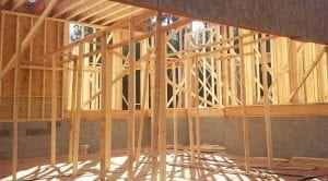 new construction Lake Norman Framing